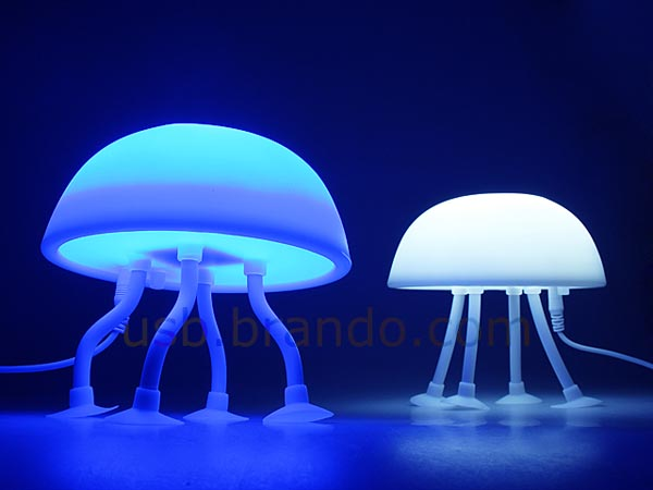 Jellyfish usb lamp gadgetsin for Jellyfish lights