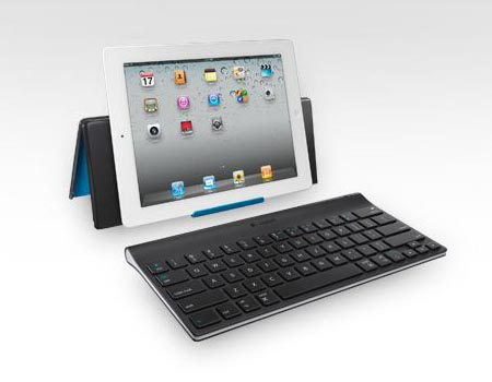 Logitech Bluetooth Keyboard and Stand for iPad