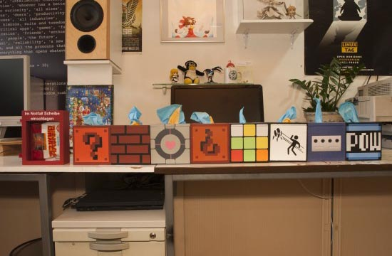 Make Your Own Geeky Tissue Box