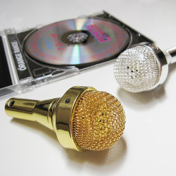 Microphone Shaped Portable Speaker