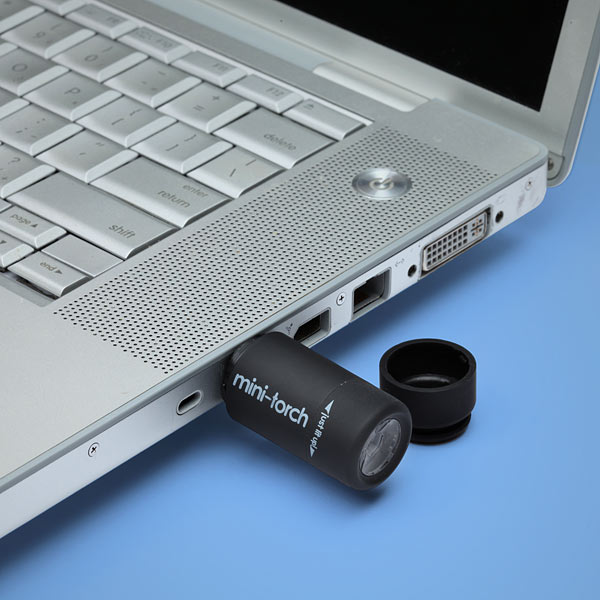 Mini Chargeable USB LED Flashlight