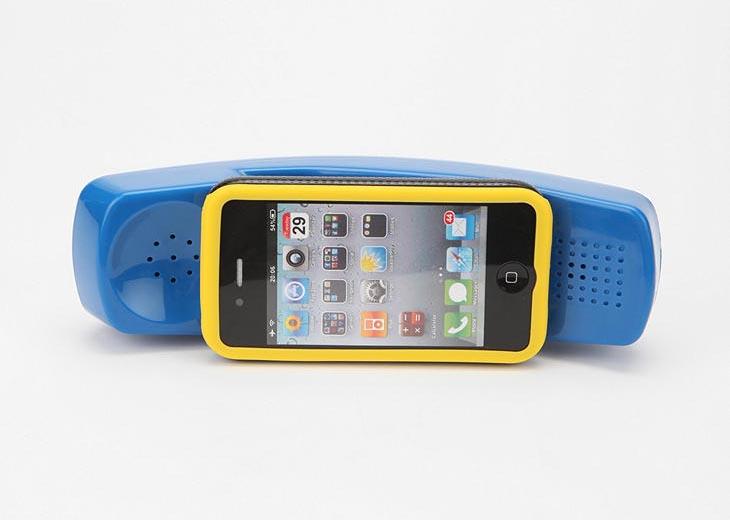 Mofone Retro Telephone Styled iPhone 4 Case