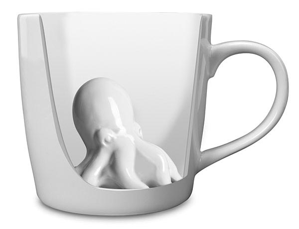 Octopus Surprise Coffee Mug