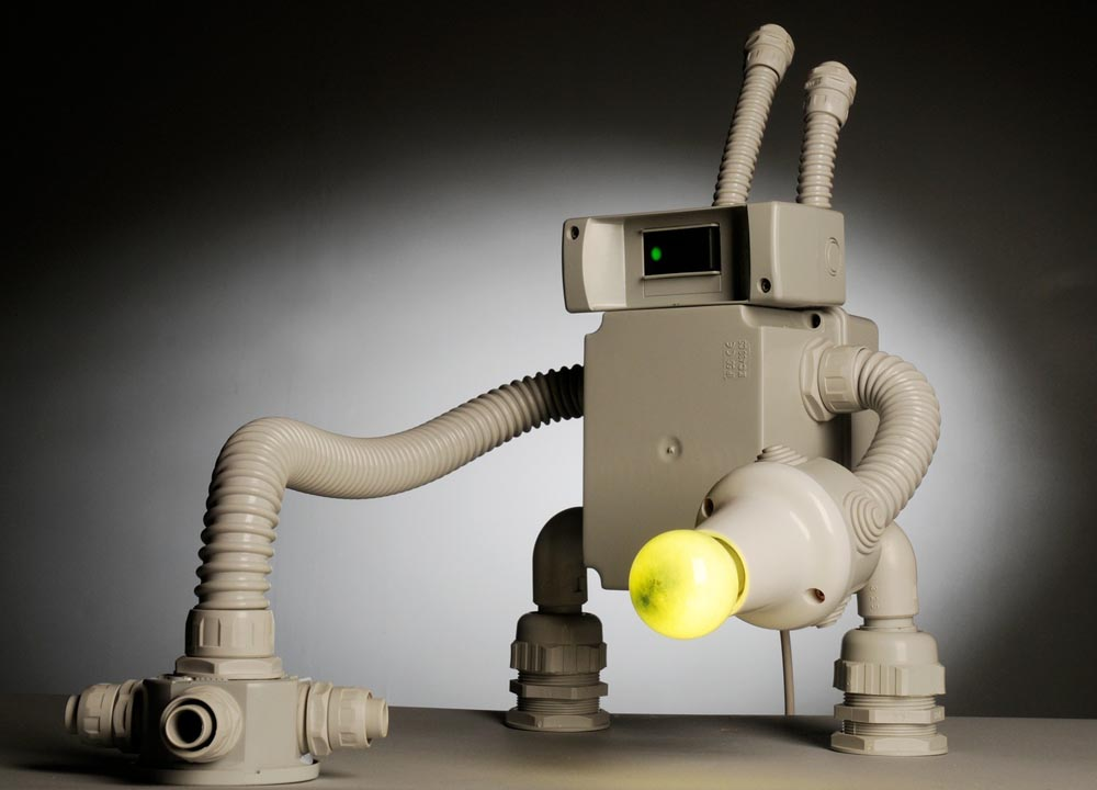 Pobolamp Robot Styled Table Lamps