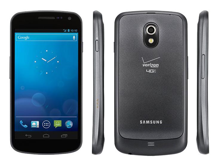 Samsung Galaxy Nexus Now Abailable