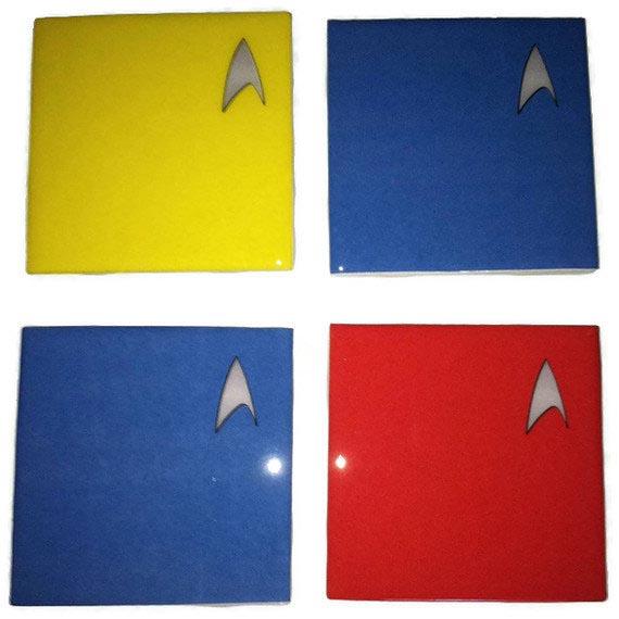 Star Trek Coaster Set
