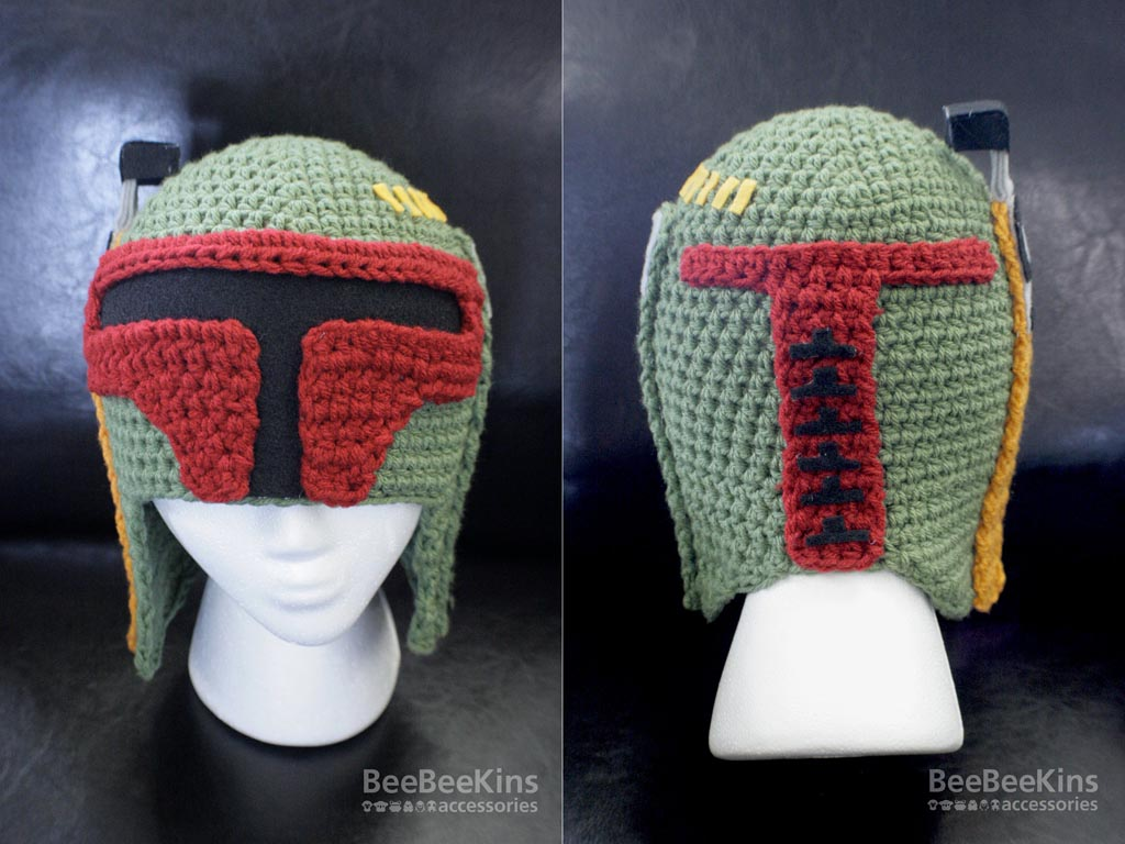 Crochet pattern Helmet hat three sizes, toddler child and teen