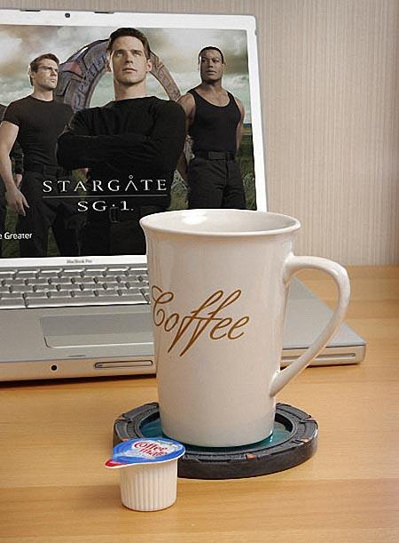 Stargate Coaster Set