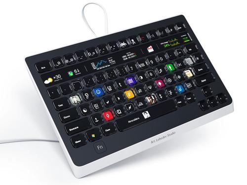 Optimus Popularis All-In-One Computer Keyboard