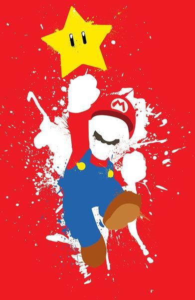 Super Mario Poster Set