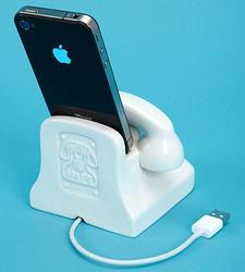 Jonathan Adler Retro Phone Styled Porcelain iPhone Dock