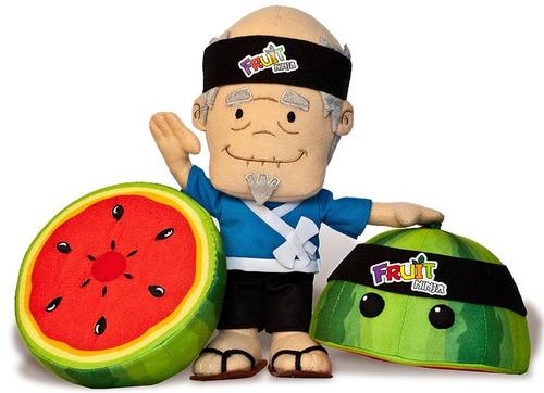 Ninja Fruit Training Pack Plush Toy