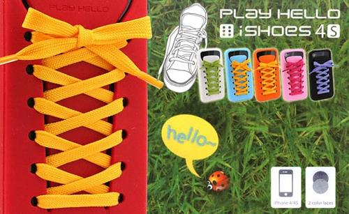 Play Hello iShoes iPhone 4S Case