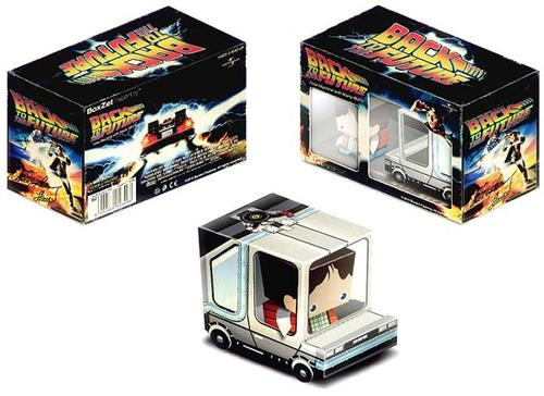 Back to the Future Paper Craft