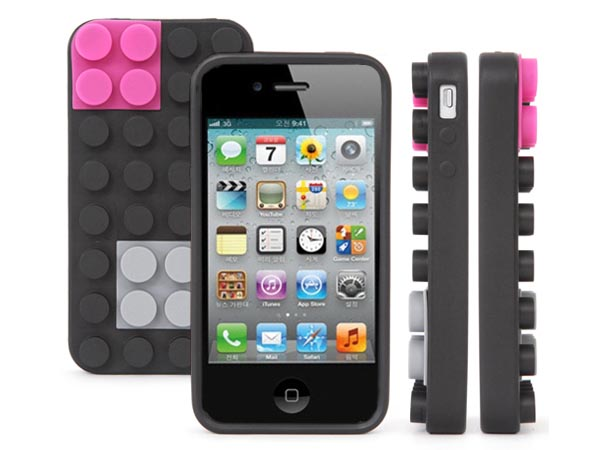 Block iPhone 4 Case