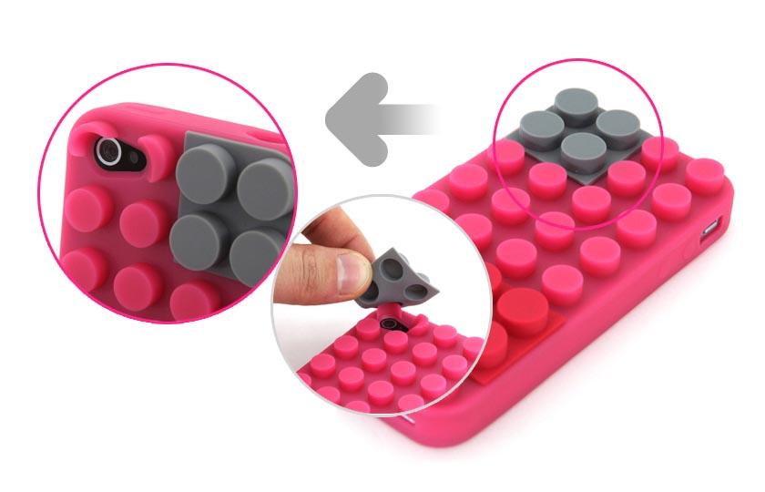 Block iPhone 4 Case
