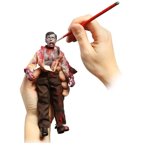 Customizable Zombie Action Figure Kit