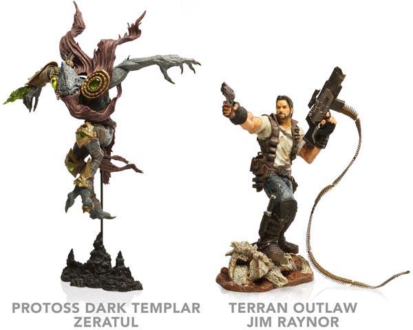 Deluxe StarCraft 2 Figures