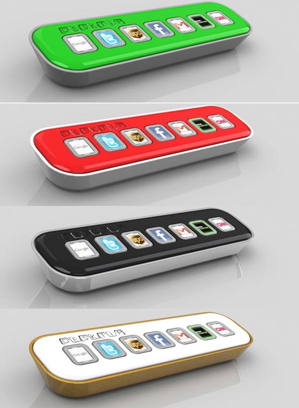Desktip A USB Gadget for Your Favorite Social Networks