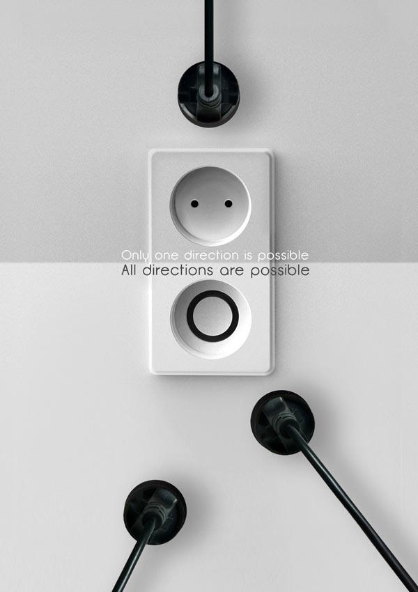 Donut Plug Socket Design Concept