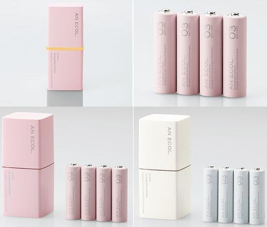 Elecom An Ecol Battery Charger for Girls