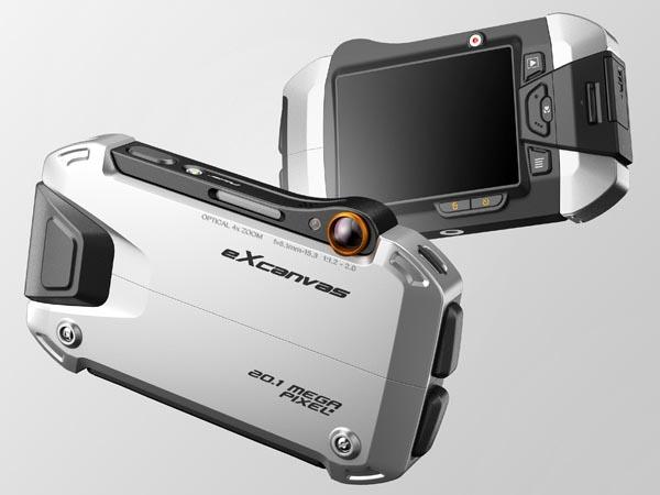 eXcanvas Digital Camera Design Concept