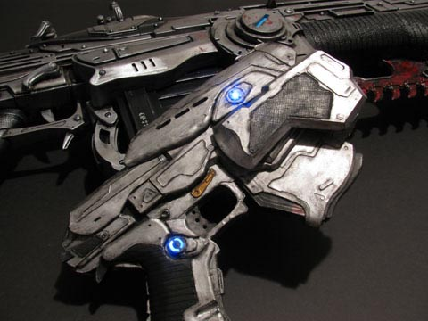 Fan-Made Gears of War Snub Pistol