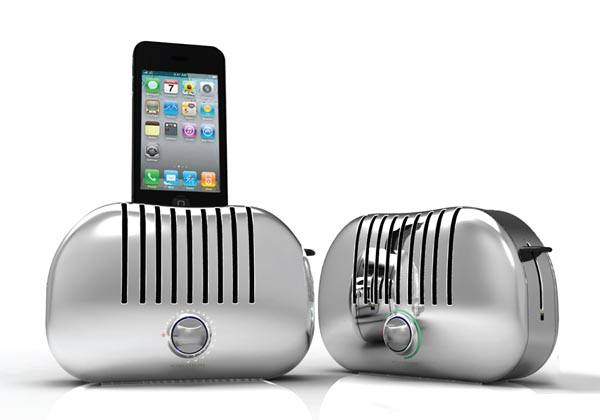 Gavio TOAST! Dock Speaker for iPhone
