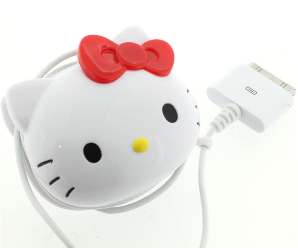 Hello Kitty AC Adaptor for iPhone and iPod