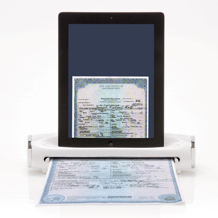 iConvert Portable Scanner for iPad