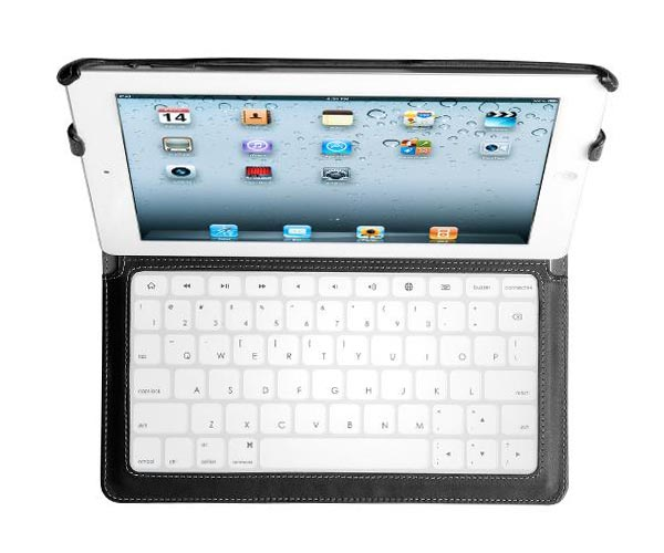Kensington KeyLite Ultra Slim Touch Keyboard Folio iPad 2 Case
