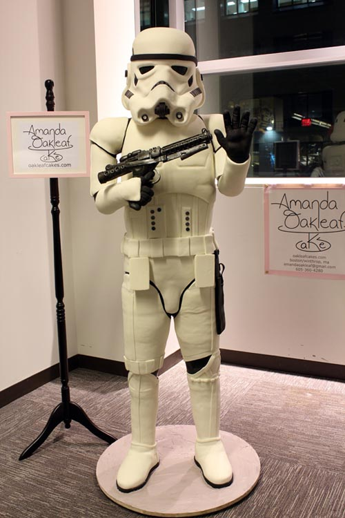Life-Sized Stormtrooper Cake