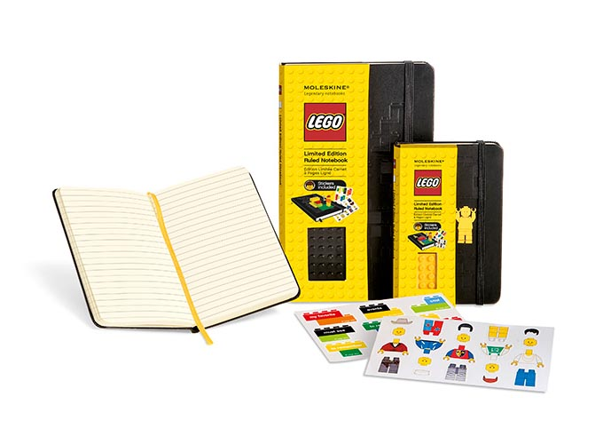 Limited Edition Moleskine LEGO Notebook Collection