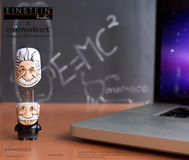 Mimoco Einstein Mimobot USB Flash Drive