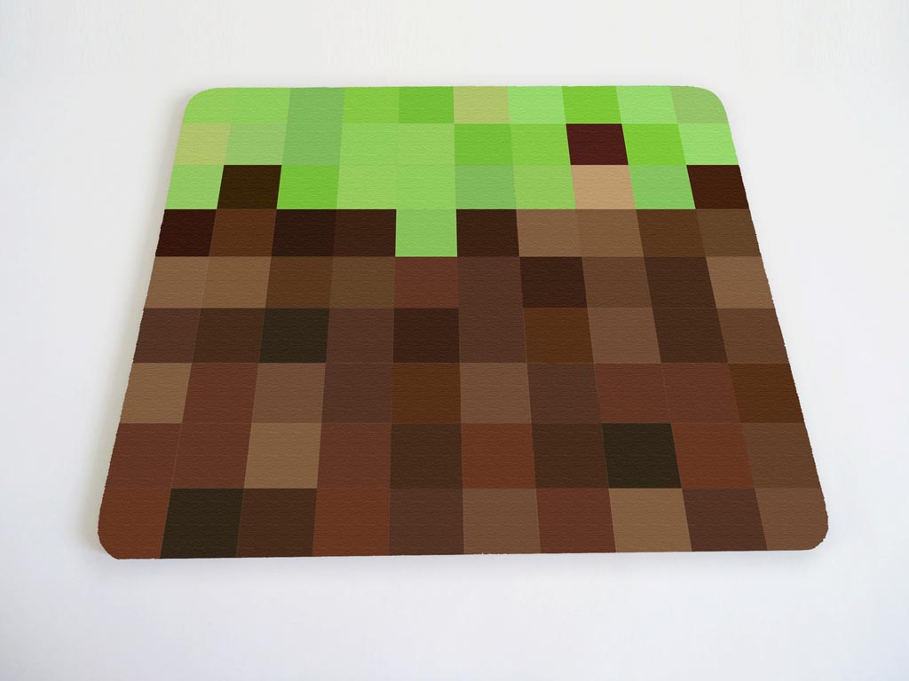 Minecraft Inspired Mouse Pad