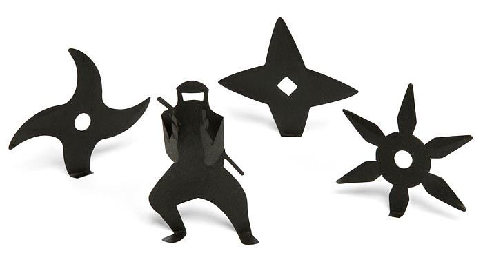 Ninja Themed Sticky Notes