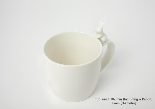 Rabito Mug with Integrated Tea Bag Holder