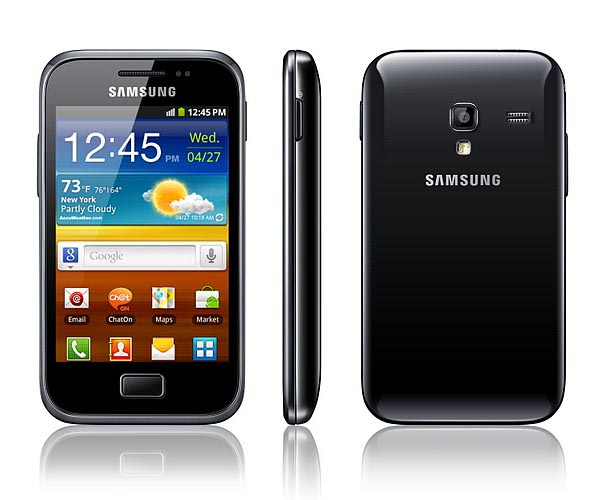 Samsung Galaxy Ace Plus Announced