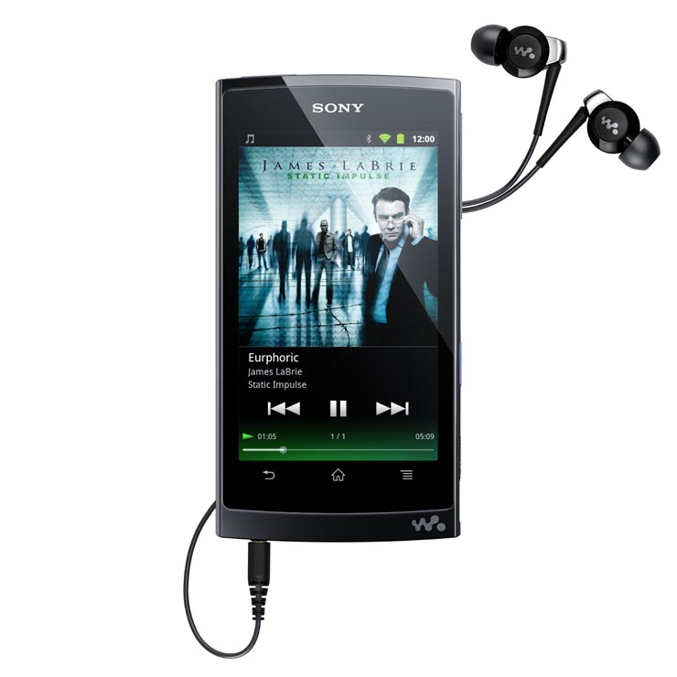 Sony Walkman Z Series Mobile Entertainment Player Powered by Android