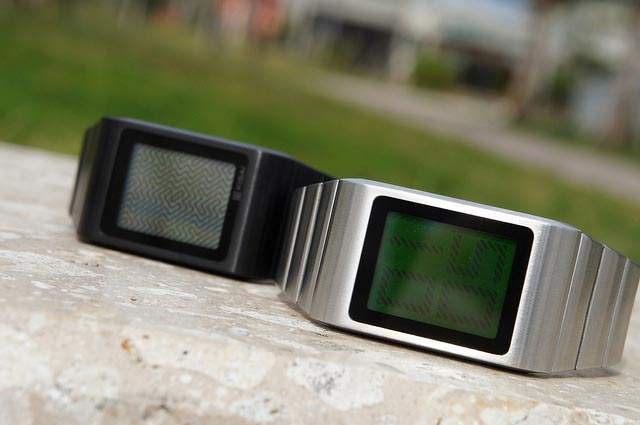 Tokyoflash Kisai Optical Illusion LCD Watch