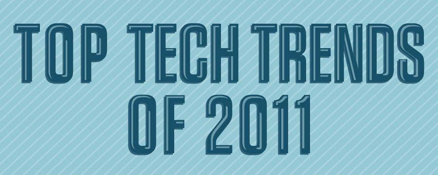 Top Tech Trend of 2011 Infographic