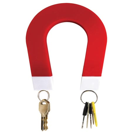 U-Magnet Shaped Key Holder