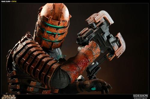 Dead Space Isaac Clarke Polystone Statue