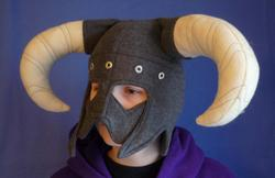 The Elder Scrolls V Skyrim Inspired Fleece Hat