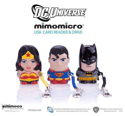 Mimoco MIMOMICRO USB Flash Drive and Card Reader