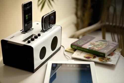 IDAPT S1 Wireless Dock Speaker with Charging Station
