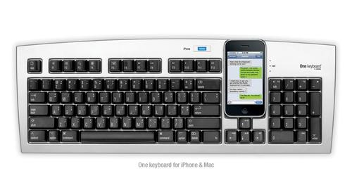 Matias One Computer Keyboard for iPhone Users