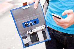 A Wallet for Your iPhone Lenses