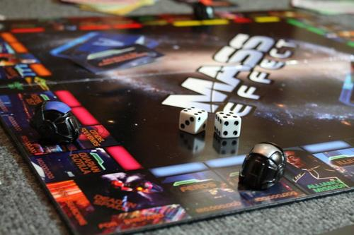 Mass Effect Themed Monopoly Board Game