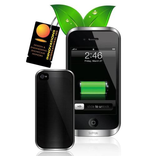 GreenSimian SolMate Solar Powered iPhone 4 Battery Case